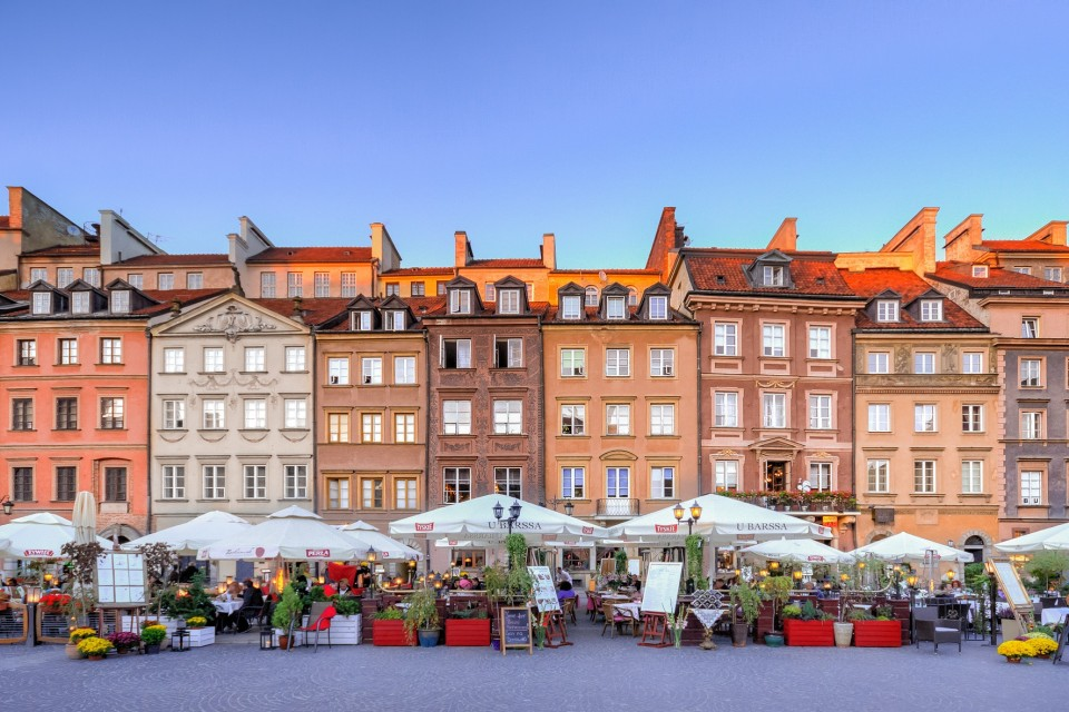 Warsaw – the city that rose from the ashes